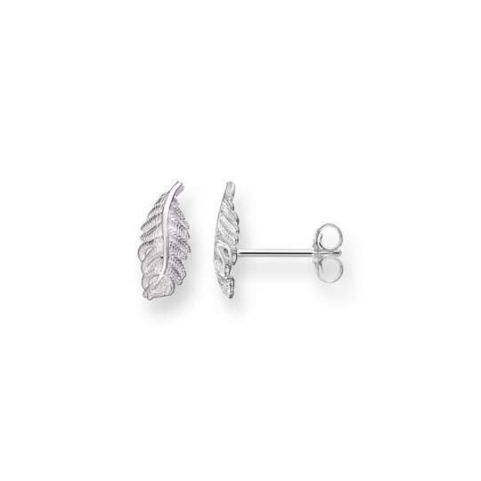 ear studs feather from the Glam & Soul collection in the THOMAS SABO online store