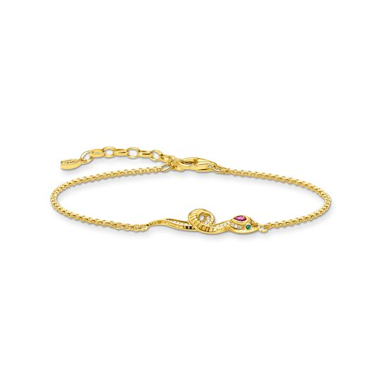 Bracelet snake gold from the  collection in the THOMAS SABO online store