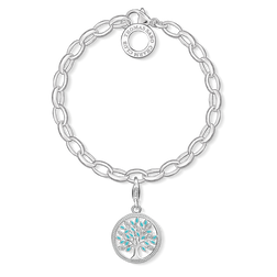 "Charm bracelet ""tree of love"" from the  collection in the THOMAS SABO online store"