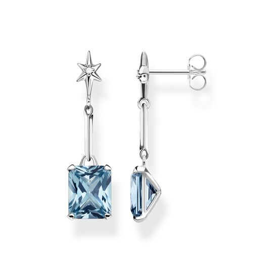 earrings blue stone with star from the Glam & Soul collection in the THOMAS SABO online store