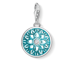 "Charm pendant ""flower ornament"" from the  collection in the THOMAS SABO online store"