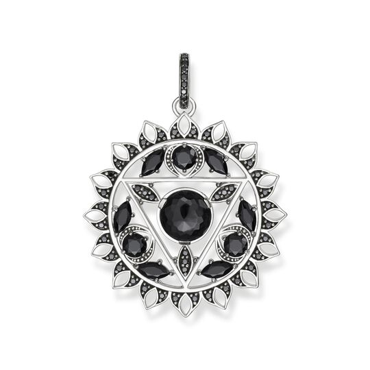 pendant black throat chakra from the  collection in the THOMAS SABO online store