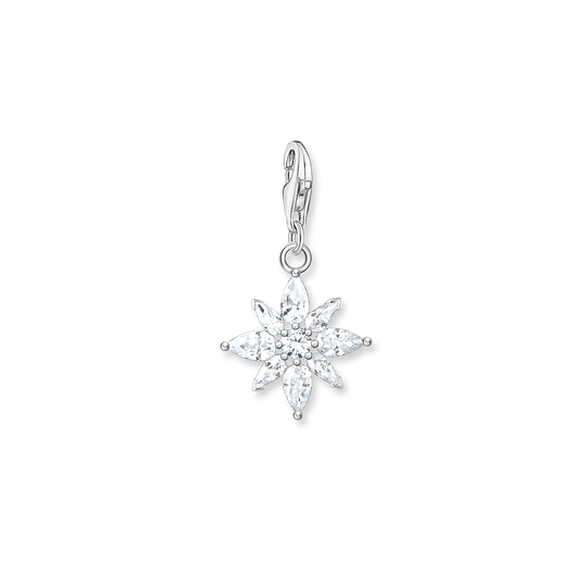 Charm pendant flower from the Glam & Soul collection in the THOMAS SABO online store