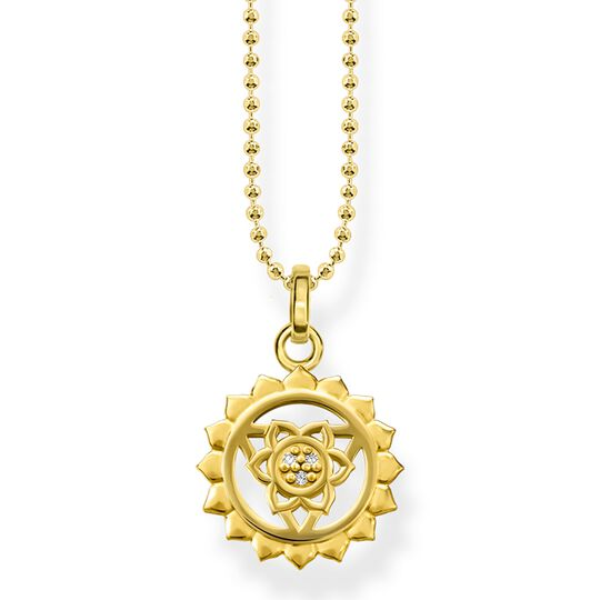 "necklace ""throat chakra"" from the Glam & Soul collection in the THOMAS SABO online store"