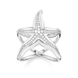 """ring """"starfish"""" from the Glam & Soul collection in the THOMAS SABO online store"""