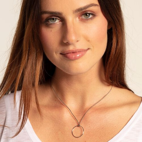 """Charm necklace """"Little Secret circle"""" from the  collection in the THOMAS SABO online store"""