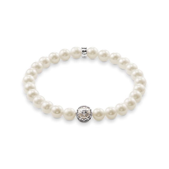 pearl bracelet lotos blossom from the Glam & Soul collection in the THOMAS SABO online store