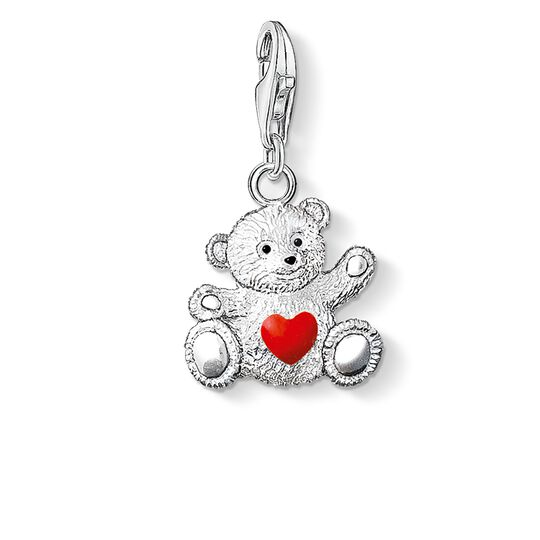 Charm pendant charity bear from the  collection in the THOMAS SABO online store