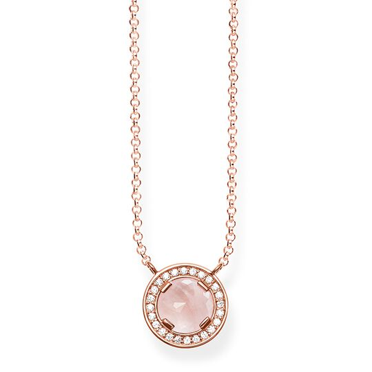 necklace Light of Luna pink from the Glam & Soul collection in the THOMAS SABO online store