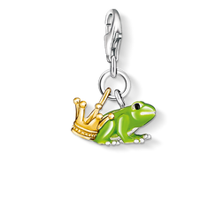 Charm pendant Frog Prince from the Charm Club Collection collection in the THOMAS SABO online store