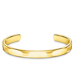 bangle Minimalist gold from the Rebel at heart collection in the THOMAS SABO online store
