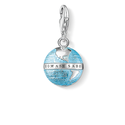 "Charm pendant ""globe"" from the  collection in the THOMAS SABO online store"