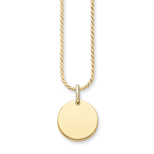 necklace coin from the Love Bridge collection in the THOMAS SABO online store