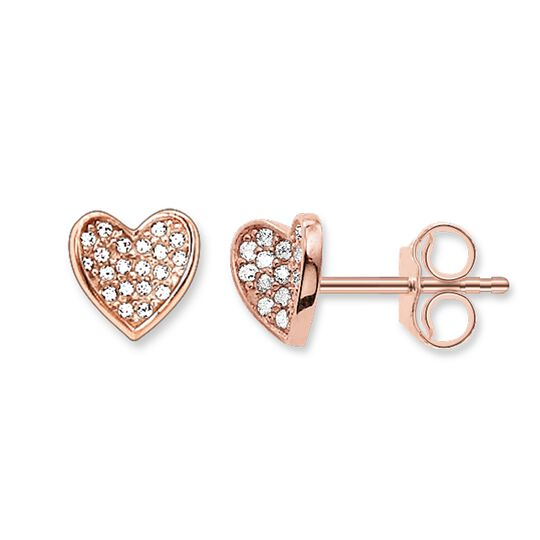 """ear studs """"heart"""" from the Glam & Soul collection in the THOMAS SABO online store"""