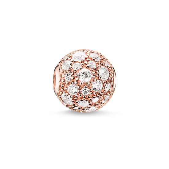 "Bead ""crushed pavé"" from the Karma Beads collection in the THOMAS SABO online store"