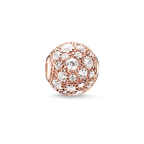 """Bead """"Crushed pavé"""" de la collection Karma Beads dans la boutique en ligne de THOMAS SABO"""