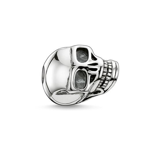 """Bead """"teschio grande"""" from the Karma Beads collection in the THOMAS SABO online store"""