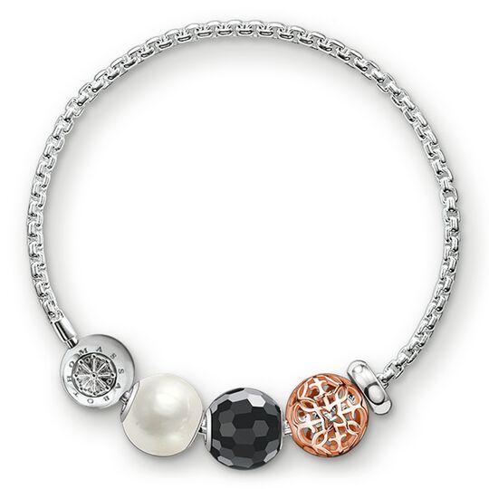 """pulsera """"ornamento"""" de la colección Karma Beads en la tienda online de THOMAS SABO"""