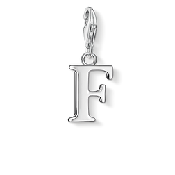 """pendentif Charm """"lettre F"""" de la collection  dans la boutique en ligne de THOMAS SABO"""
