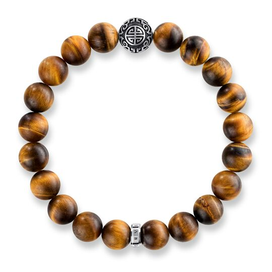 """bracelet """"Ethnic tiger's eye Brown"""" from the Glam & Soul collection in the THOMAS SABO online store"""