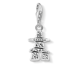Charm pendant Canada Inukshuk from the Charm Club Collection collection in the THOMAS SABO online store