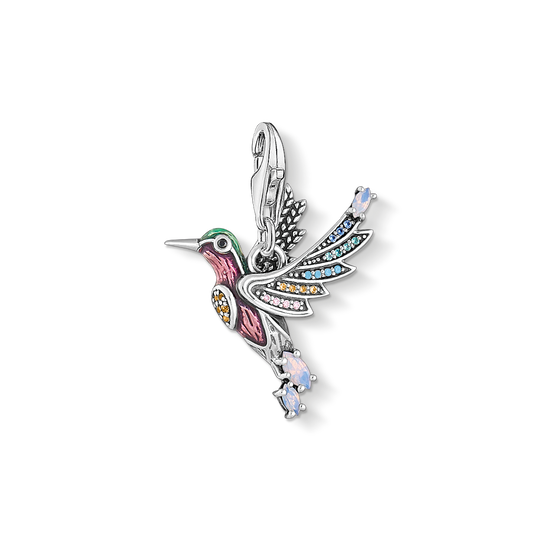 charm pendant hummingbird silver from the Charm Club collection in the THOMAS SABO online store