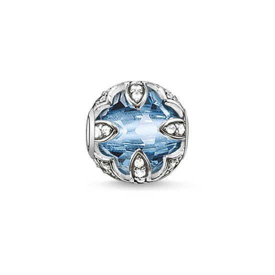 "Bead ""light-blue lotus"" from the Karma Beads collection in the THOMAS SABO online store"
