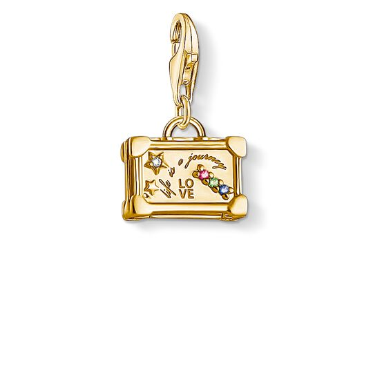 Charm pendant Vintage Suitcase from the Charm Club collection in the THOMAS SABO online store