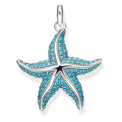 "pendant ""starfish"" from the Glam & Soul collection in the THOMAS SABO online store"
