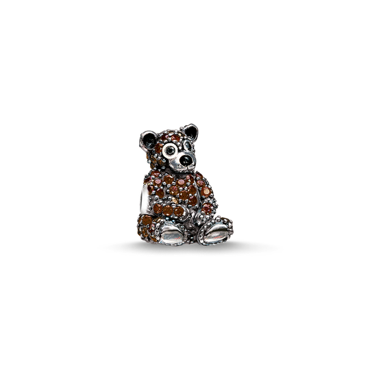 Bead brown bear from the Karma Beads collection in the THOMAS SABO online store
