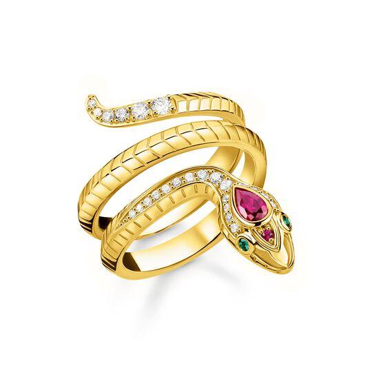 Ring Schlange gold aus der  Kollektion im Online Shop von THOMAS SABO