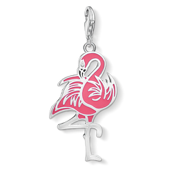 Charm pendant Flamingo from the  collection in the THOMAS SABO online store