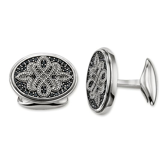 cufflinks Love Knot from the Rebel at heart collection in the THOMAS SABO online store