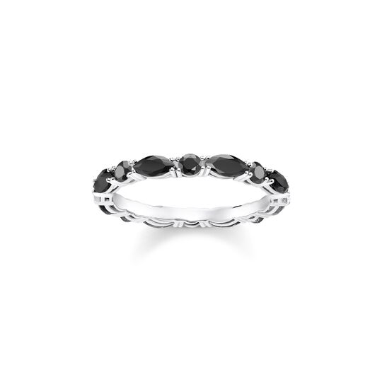 ring Black stones from the Glam & Soul collection in the THOMAS SABO online store