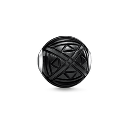 Bead ethno black from the Karma Beads collection in the THOMAS SABO online store