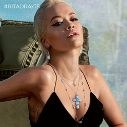 Rita Ora Look Magic Summer Aquastones aus der  Kollektion im Online Shop von THOMAS SABO