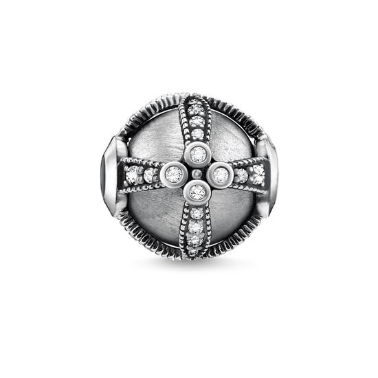 """Bead """"Royalty silver"""" from the Karma Beads collection in the THOMAS SABO online store"""