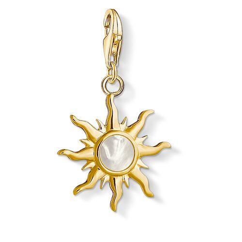 """Charm-Anhänger """"Sonne mit Perlmutt Stein"""" aus der  Kollektion im Online Shop von THOMAS SABO"""