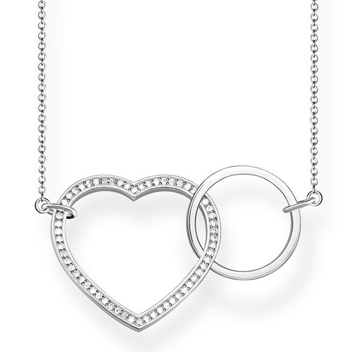 "necklace ""TOGETHER Heart Large"" from the Glam & Soul collection in the THOMAS SABO online store"