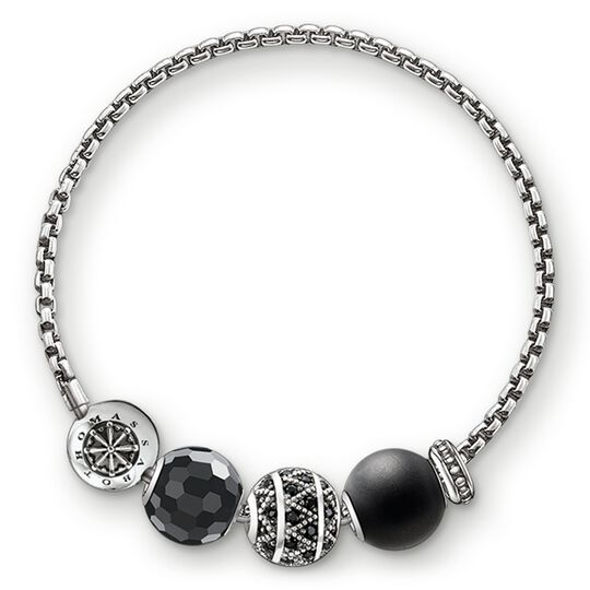 "bracelet ""zig zag"" from the Karma Beads collection in the THOMAS SABO online store"