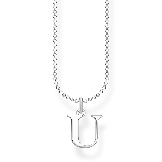 Necklace letter U from the Charming Collection collection in the THOMAS SABO online store
