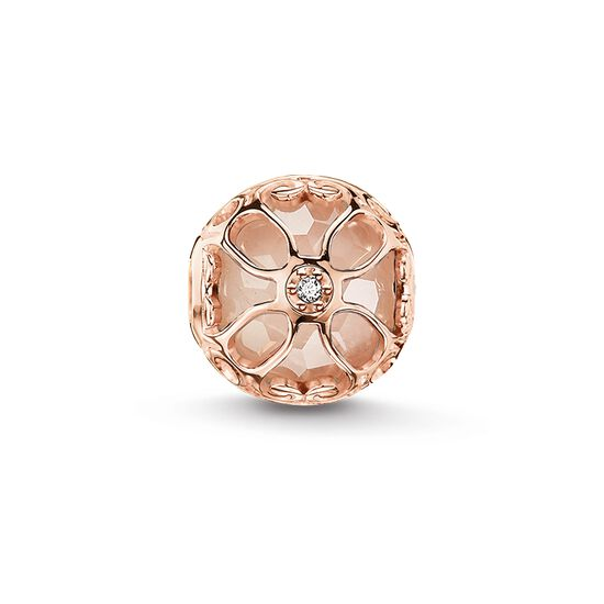 "Bead ""pink lotus flower"" from the Karma Beads collection in the THOMAS SABO online store"