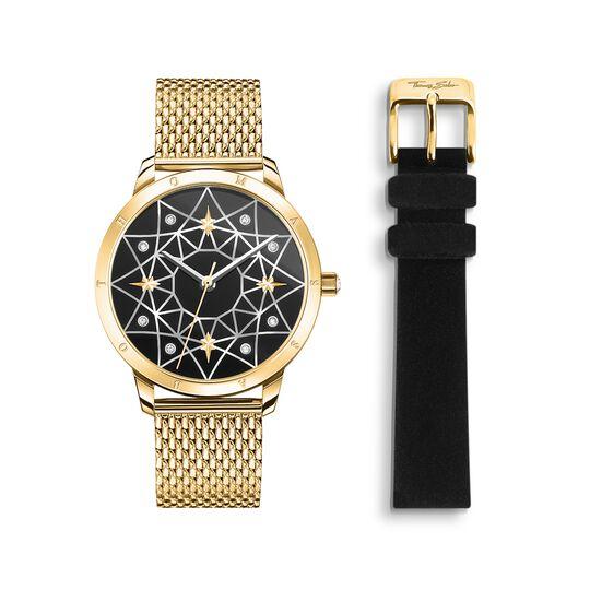 Reloj para señora Spirit Cosmos cielo estrellado oro de la colección  en la tienda online de THOMAS SABO