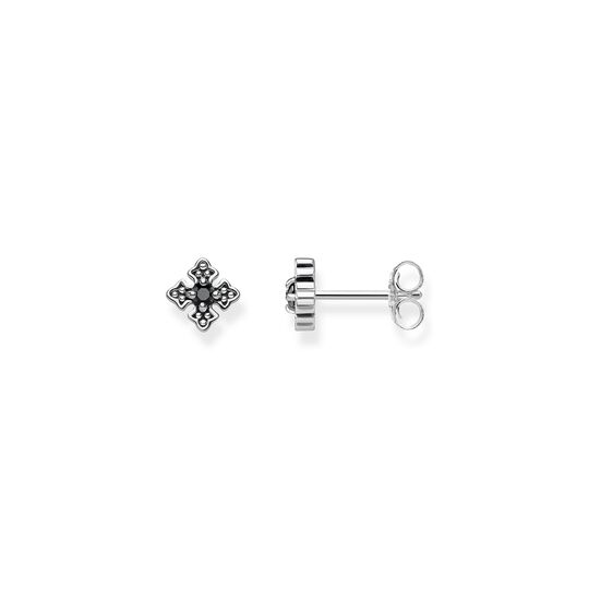 ear studs royalty black from the  collection in the THOMAS SABO online store