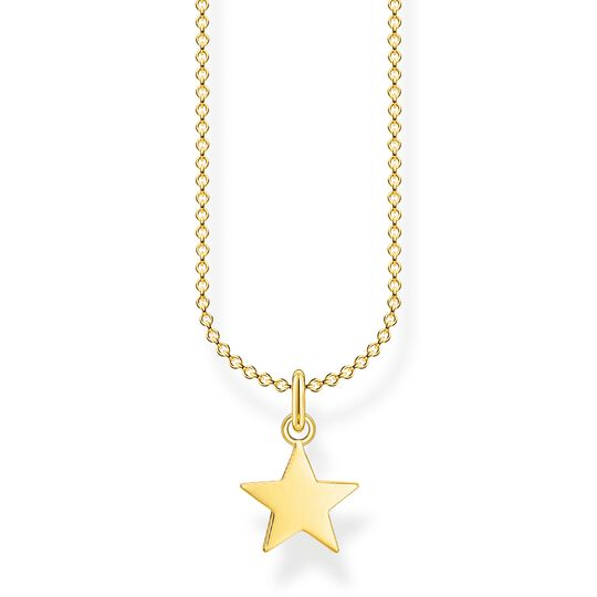 Necklace star gold from the Charming Collection collection in the THOMAS SABO online store