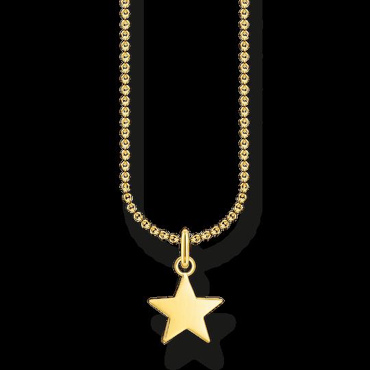 Chaîne étoile or de la collection Charming Collection dans la boutique en ligne de THOMAS SABO