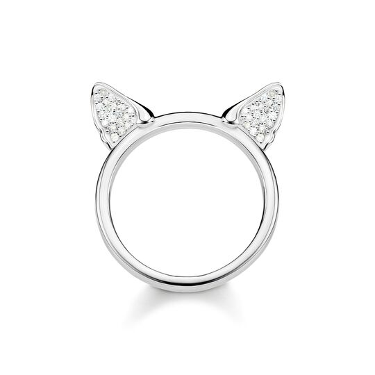 ring Cat's ears, silver from the  collection in the THOMAS SABO online store