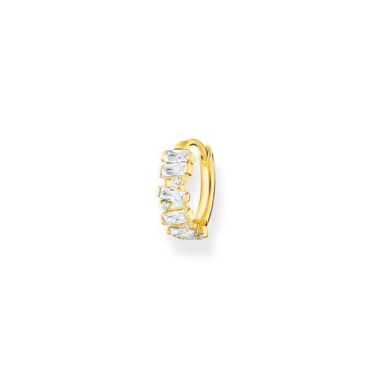 Aro blanco piedras oro de la colección Charming Collection en la tienda online de THOMAS SABO