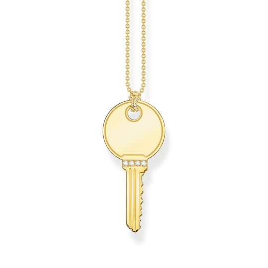 Necklace key gold from the  collection in the THOMAS SABO online store