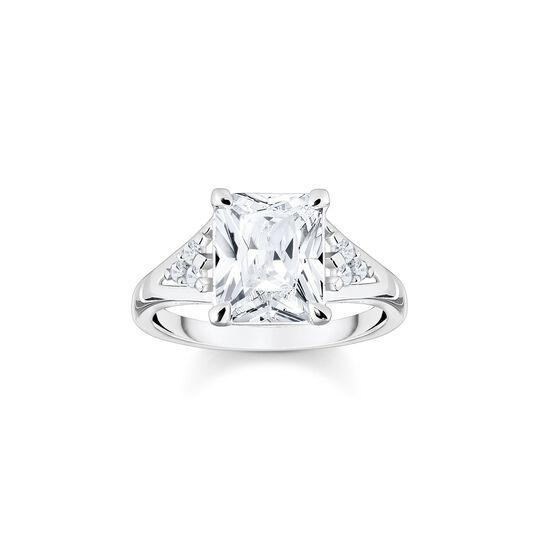 Ring vit sten silver ur kollektionen  i THOMAS SABO:s onlineshop